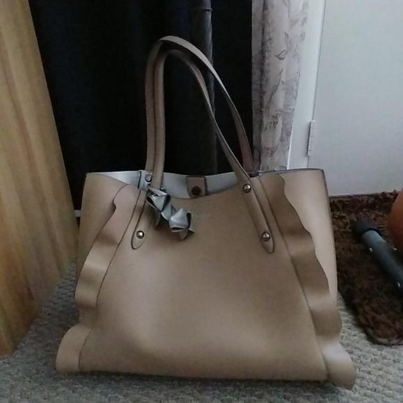 f4047d4187 Jessica Simpson Handbags - Jessica Simpson Kalie Ruffle Tote Bag